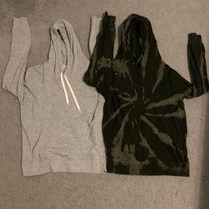 2 comfy hoodies for a great price